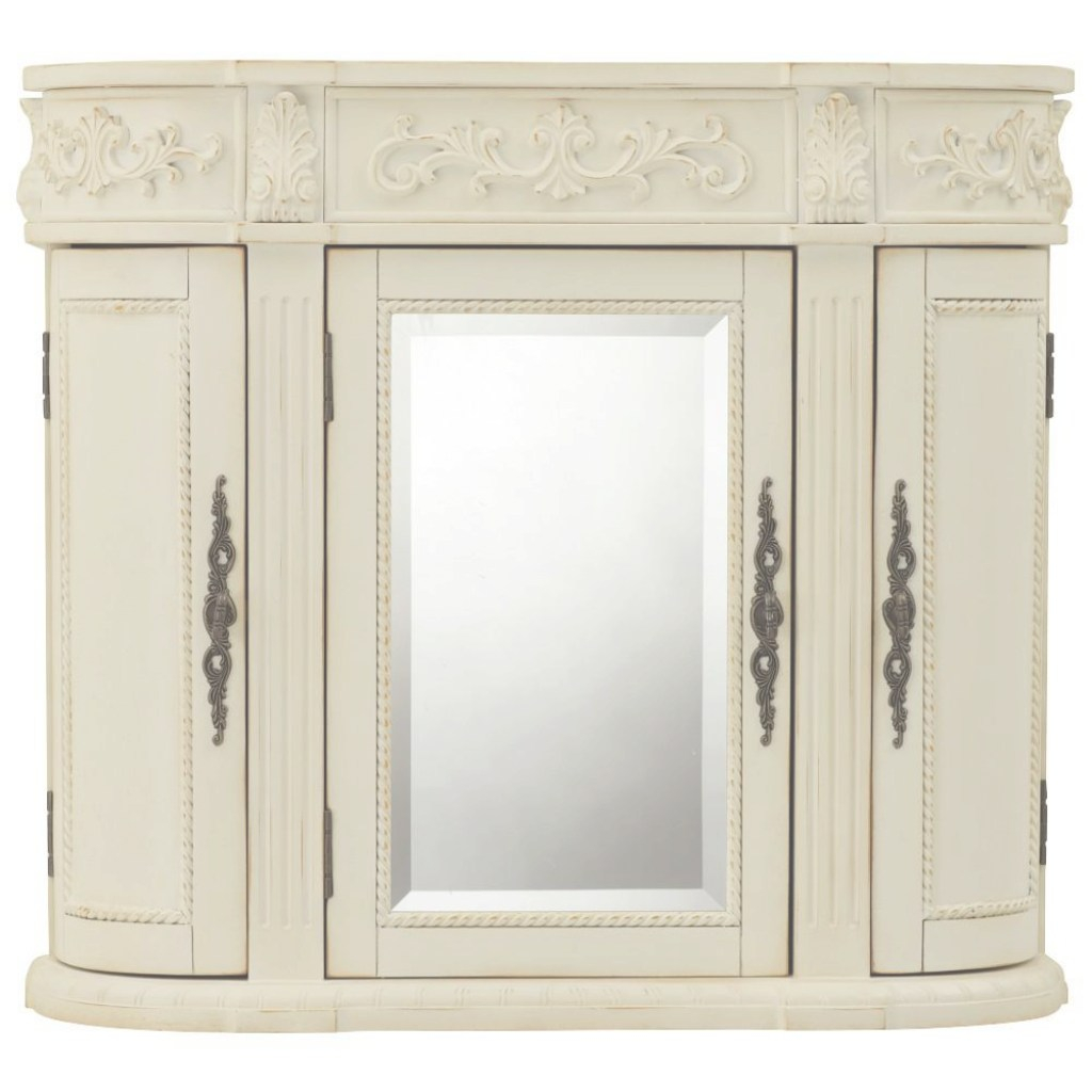 Glamorous Home Decorators Collection Chelsea 31-1/2 In. W Bathroom Storage with regard to Bathroom Wall Cabinet With Mirror