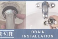 Glamorous How To Install A Bathroom Sink Drain | Repair And Replace – Youtube with regard to High Quality Bathroom Sink Drain Installation