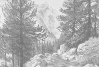 Glamorous Landscape Drawings In Pencil | Re)Introducing Pencils Teaching in Awesome Landscape Drawing In Pencil
