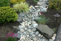 Glamorous Landscaping With River Rock & Dry River Rock Garden Ideas throughout Rock Landscaping Pictures
