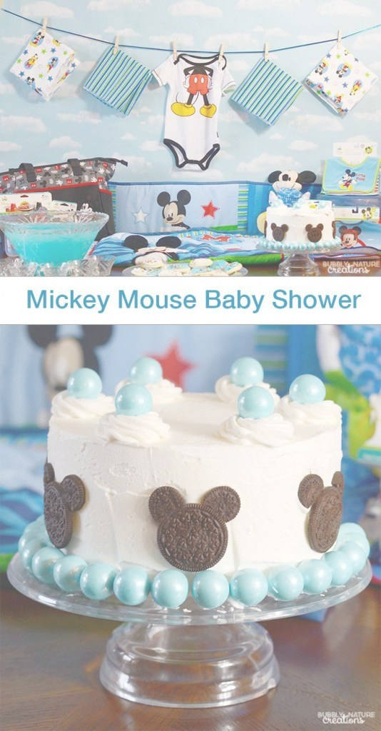 Glamorous Mickey Mouse Baby Shower | The Group Board On Pinterest | Mickey throughout Baby Shower Mickey Mouse