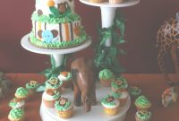 Glamorous Photo : Baby Shower Cakes 4 Image regarding Jungle Baby Shower Cake
