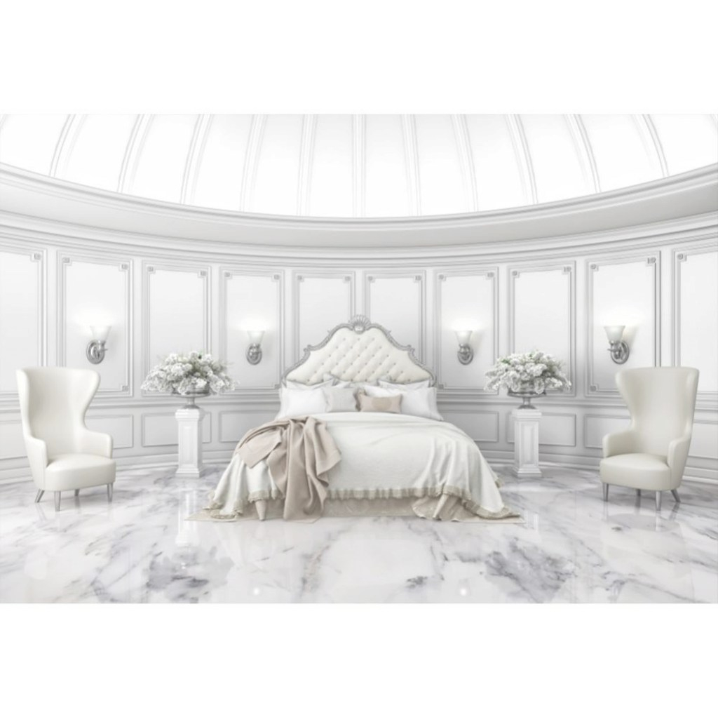 Inspirational 2019 Laeacco Palace Boudoir Bedroom Armchair Flowers Luxury inside Boudoir Bedroom