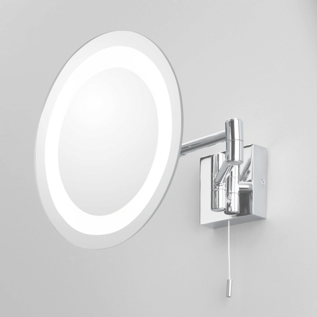 Inspirational Astro Lighting 0356 Genova Illuminated Bathroom Ip44 Magnifying Mirror intended for Bathroom Magnifying Mirror