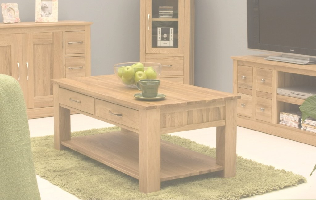 Inspirational Conran Solid Oak Living Room Lounge Furniture Four Drawer Storage inside Wooden Living Room Furniture