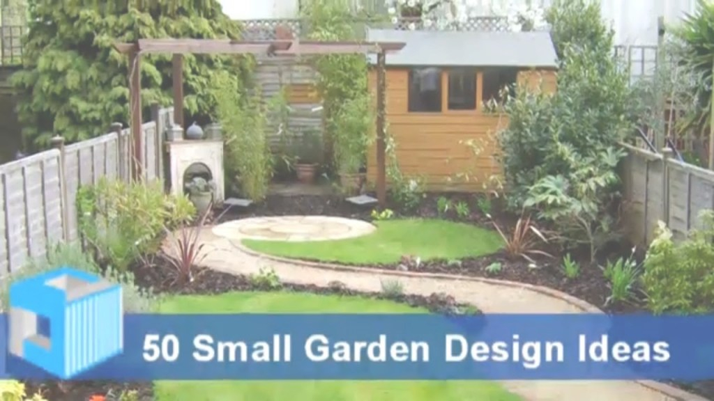 Inspirational Small Garden Design Ideas - Garden Design For Small Gardens with regard to Small Garden Landscaping Ideas