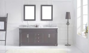 Inspirational Virtu Usa Victoria 72 Double Bathroom Vanity Set In Espresso regarding Lovely Espresso Bathroom Vanity