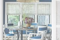 Lovely 18 Best Dining Room Paint Colors - Modern Color Schemes For Dining Rooms with Blue And White Dining Room