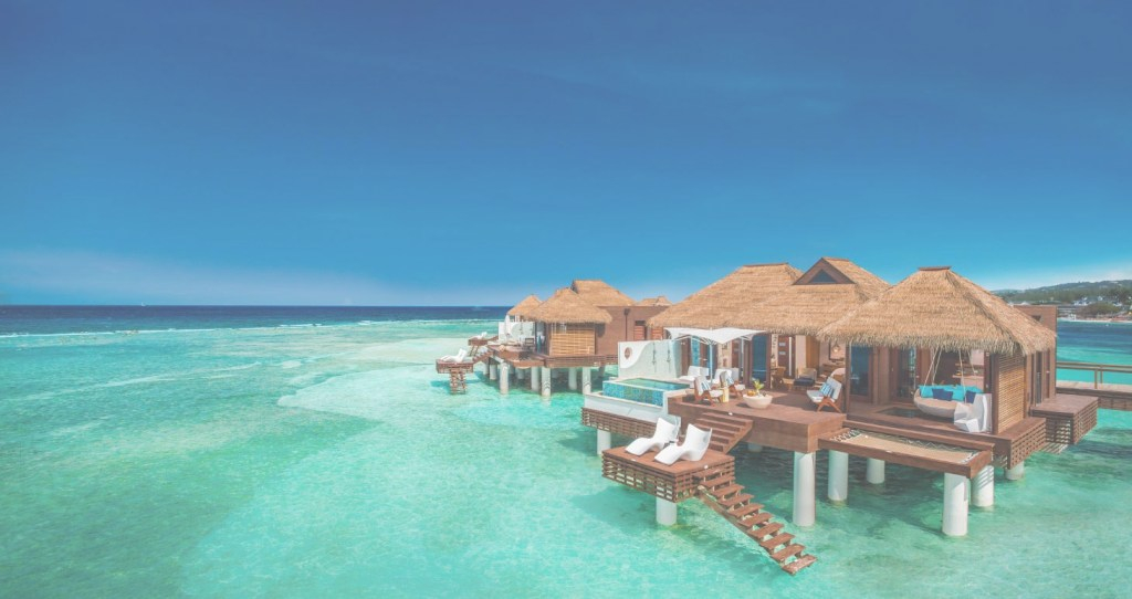 Lovely All-Inclusive Over The Water Villas & Suites In The Caribbean | Sandals for Lovely Bahamas Overwater Bungalows