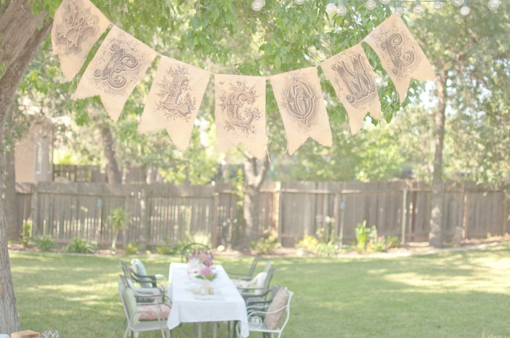 Lovely Domestic Fashionista: Summer Backyard Birthday Party with regard to Awesome Backyard Birthday Party