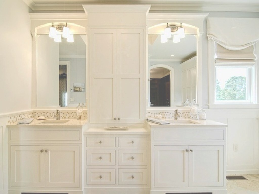 Lovely Fabulous Bathroom Vanity With Linen Cabinet On Home Design Ideas with regard to New Bathroom Vanity With Linen Cabinet