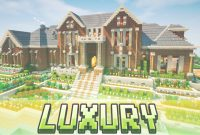 Lovely Minecraft – Luxury Brick Mansion – House Map W/ Download – Youtube within Minecraft Cool Houses Download