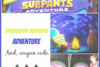 Lovely Nickelodeon Spongebob Subpants Adventure & Discount Coupon Code with regard to Fresh Moody Gardens Promo Code 2017