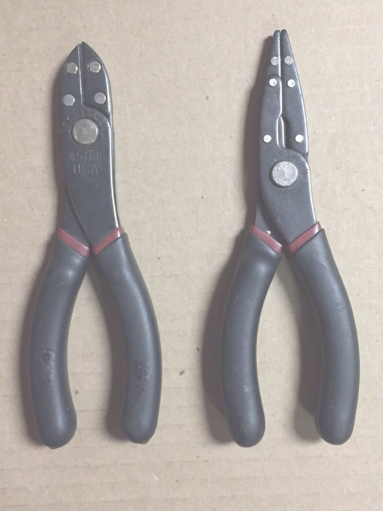 Lovely Sears Craftsman Laminated Needle Nose Pliers 45755 & Wire Cutters with Craftsman 45755