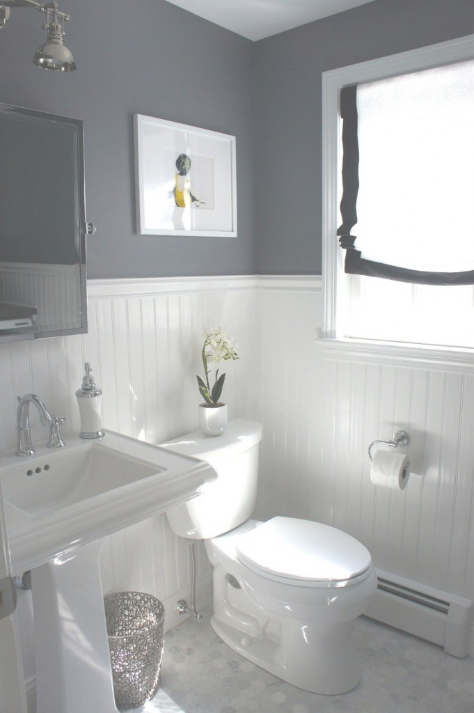 Lovely Small Bathroom Makeovers Ideas On A Budget | I Wanna Punch My House within Set Small Bathroom Color Ideas