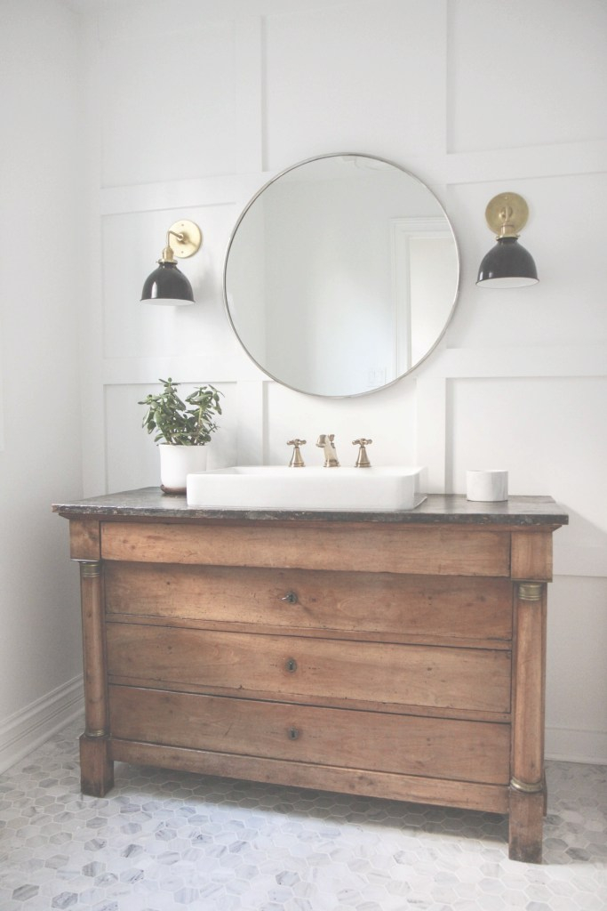 Lovely Take 10: Beautiful Bathroom Sink Consoles Made From Vintage Dressers throughout Retro Bathroom Sinks