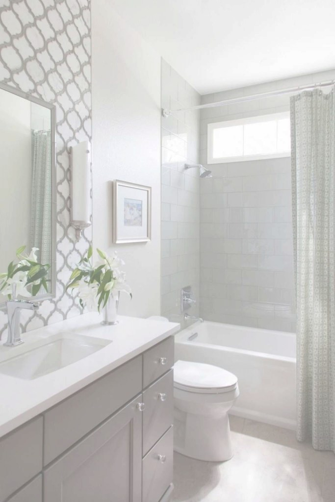Modern 33 Inspirational Small Bathroom Remodel Before And After | My Home throughout Good quality Small Bathroom Remodel Ideas