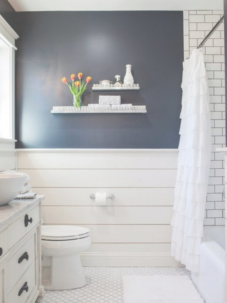 Modern Fixer Upper | The Takeaways - A Thoughtful Place | For The Home pertaining to High Quality Bathroom Wall Ideas