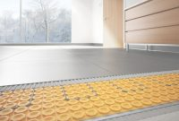 Modern Heated Floors | Schluter.ca inside Awesome Heated Floors In Bathroom