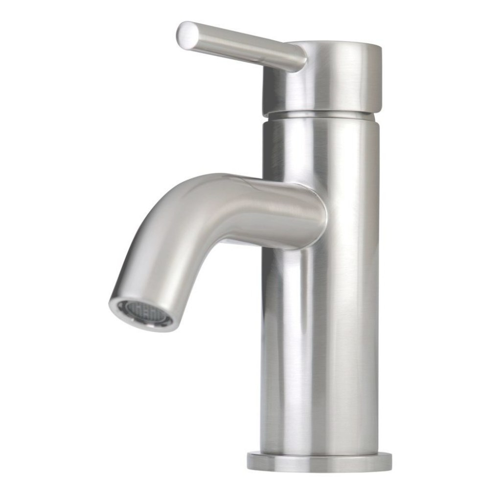 Modern Kingston Brass Contemporary Single Hole 1-Handle High-Arc Bathroom inside High Quality Single Hole Bathroom Sink Faucet