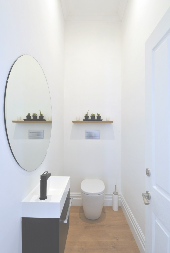 Modern Mirrors intended for Circular Bathroom Mirror