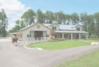 Modern Morton Buildings Horse Barn With Attached Residence In Texas within Set Morton Metal Building Homes Gallery
