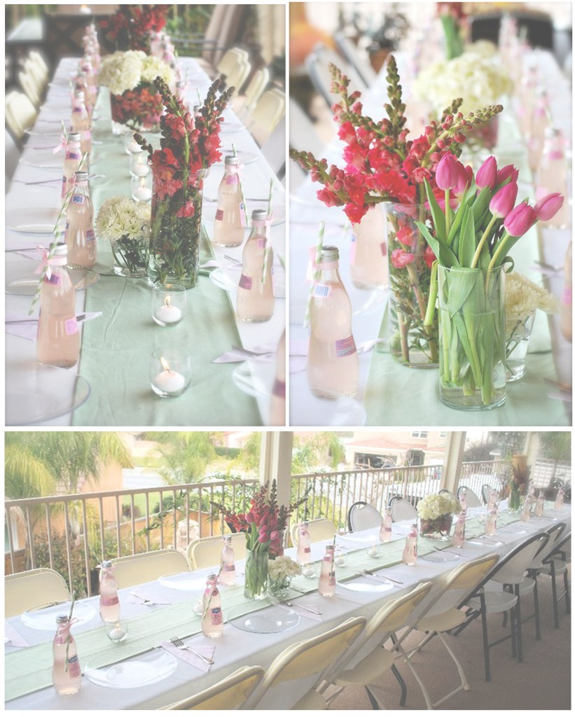 Modern Pink & Green Baby Shower | Thoughtfully Simple within Best of Pink And Green Baby Shower