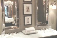 Modern Restoration Hardware: Tall-N-Thin Cool Beveled Framed Mirrorswith in Restoration Hardware Bathroom Mirrors