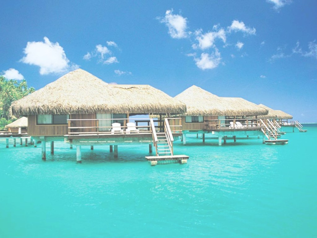 Modular 5 Insane Overwater Bungalows You Can Actually Afford | Travel Channel pertaining to New Overwater Bungalows Florida