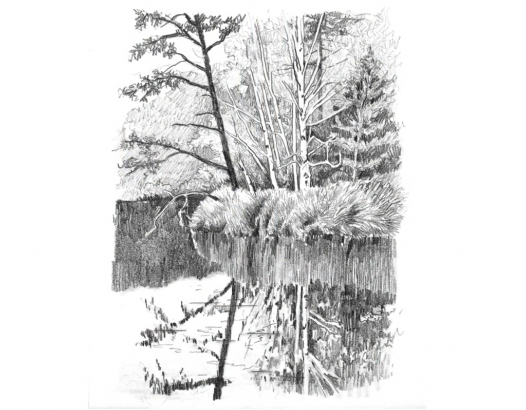 Modular 6 Ways To Spruce Up Your Landscape Pencil Drawings! - Artists Network regarding Awesome Landscape Drawing In Pencil