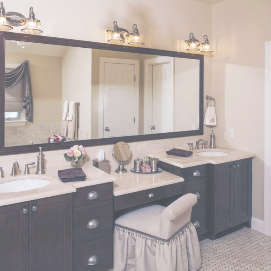 Modular Bathroom Vanity With Makeup Station - Ravivdozetas in Luxury Bathroom Vanity With Makeup Station