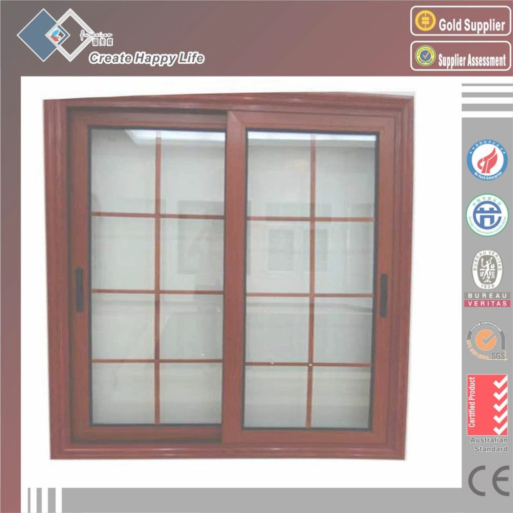 Modular Exterior Slide Type Aluminum Frame House Window Grill Design - Buy for New Window Frame Design