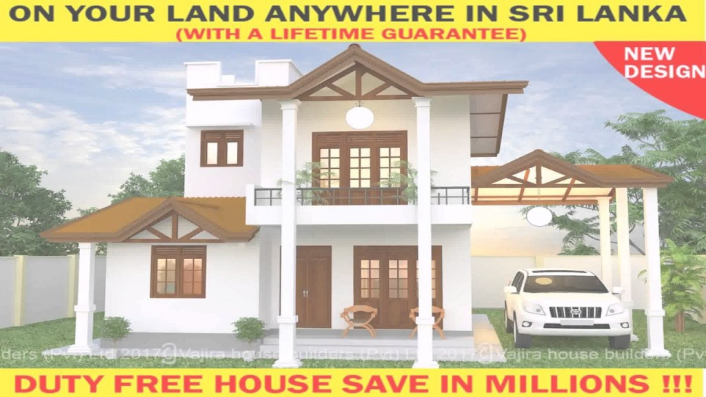 Modular House Plans In Sri Lanka With Cost - Youtube throughout New House Designs Sri Lanka