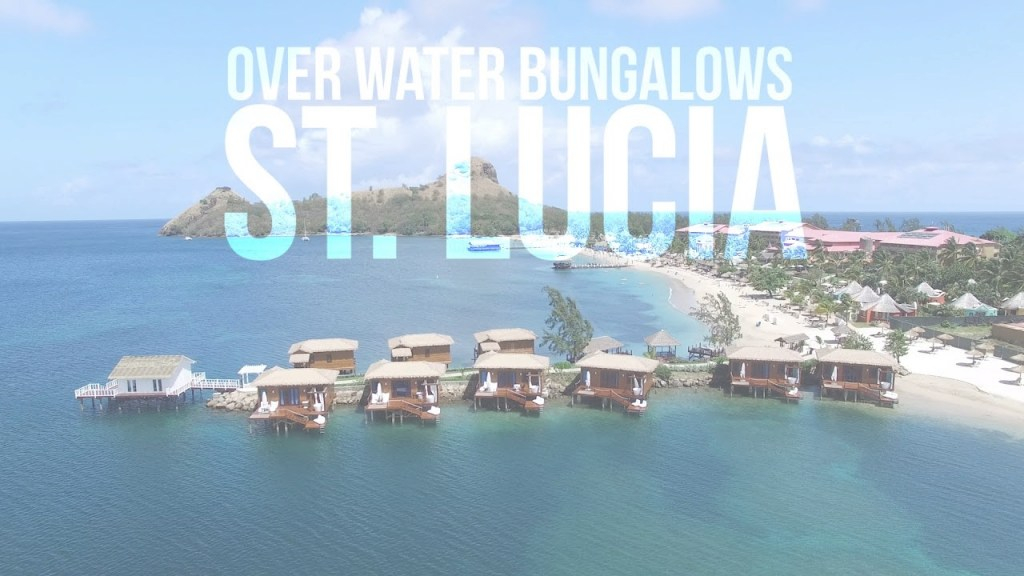 Modular Sandals St. Lucia Overwater Bungalow Tour (New May 2017) - Youtube throughout Bahamas Overwater Bungalows