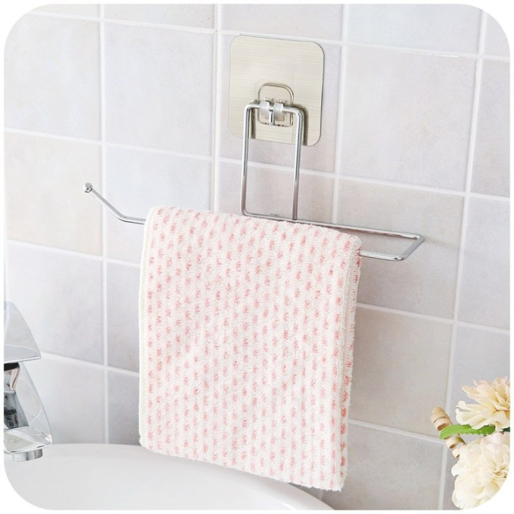 1 Set! Wall Mounted Hanger Tissue Holder Bathroom Towel inside Where To Put Toilet Paper Holder In Small Bathroom