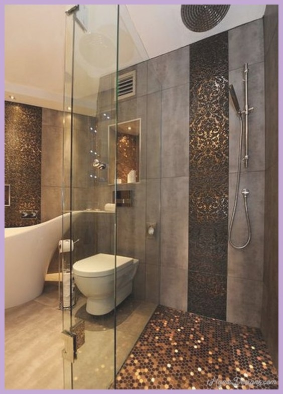 10 Best Small Bathroom Tile Ideas - 1Homedesigns intended for Tiled Shower Ideas For Small Bathrooms