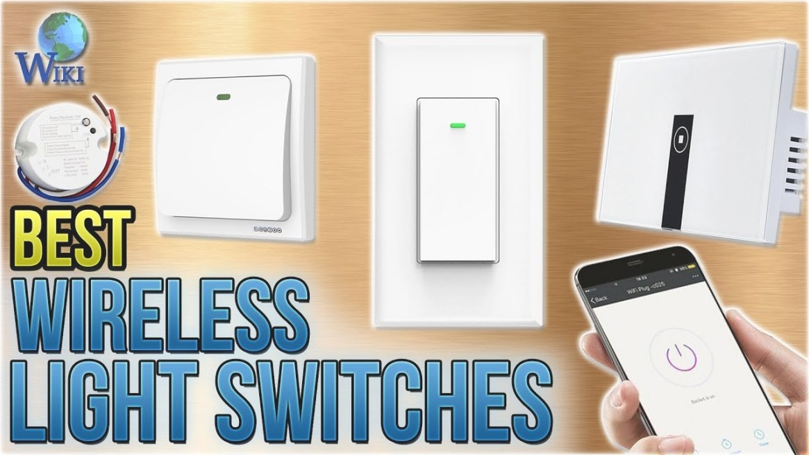 10 Best Wireless Light Switches 2018 - Youtube throughout Wireless 3 Way Switch
