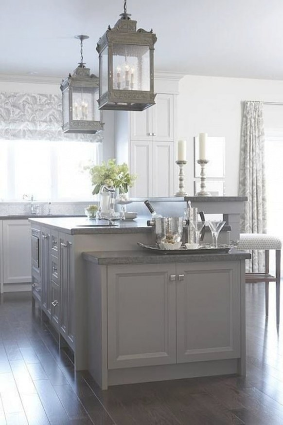 10 Fabulous Gray And White Kitchens - Tuft & Trim intended for Grey And White Kitchen
