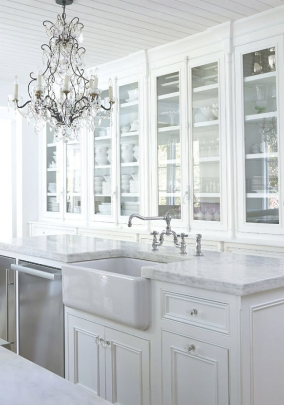 10 Fabulous Gray And White Kitchens - Tuft & Trim regarding Grey And White Kitchen