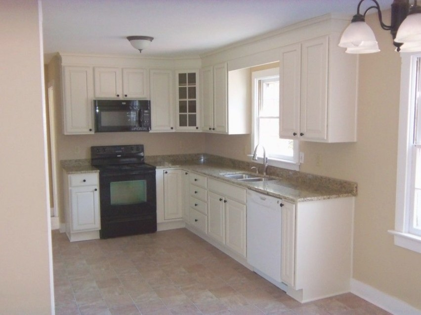 10 X 10 L Shape Kitchens With White Cabinets - Google for L Shaped White Kitchen