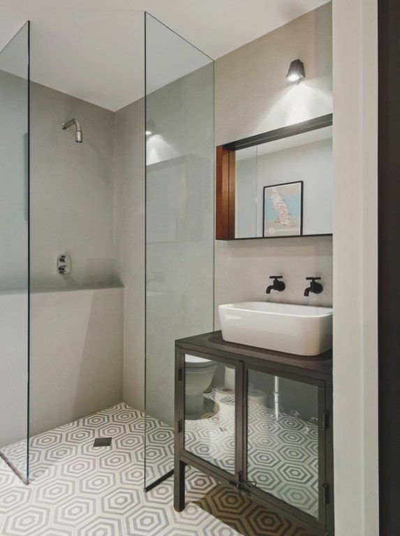 12 Inspiring Walk-In Showers For Small Bathrooms | Hunker pertaining to How Big Does A Walk In Shower Need To Be To Not Have A Door