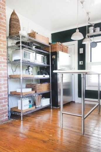 12 Smart Ways To Use Wire Shelves In Your Kitchen | Small in Best Way To Remodel Kitchen
