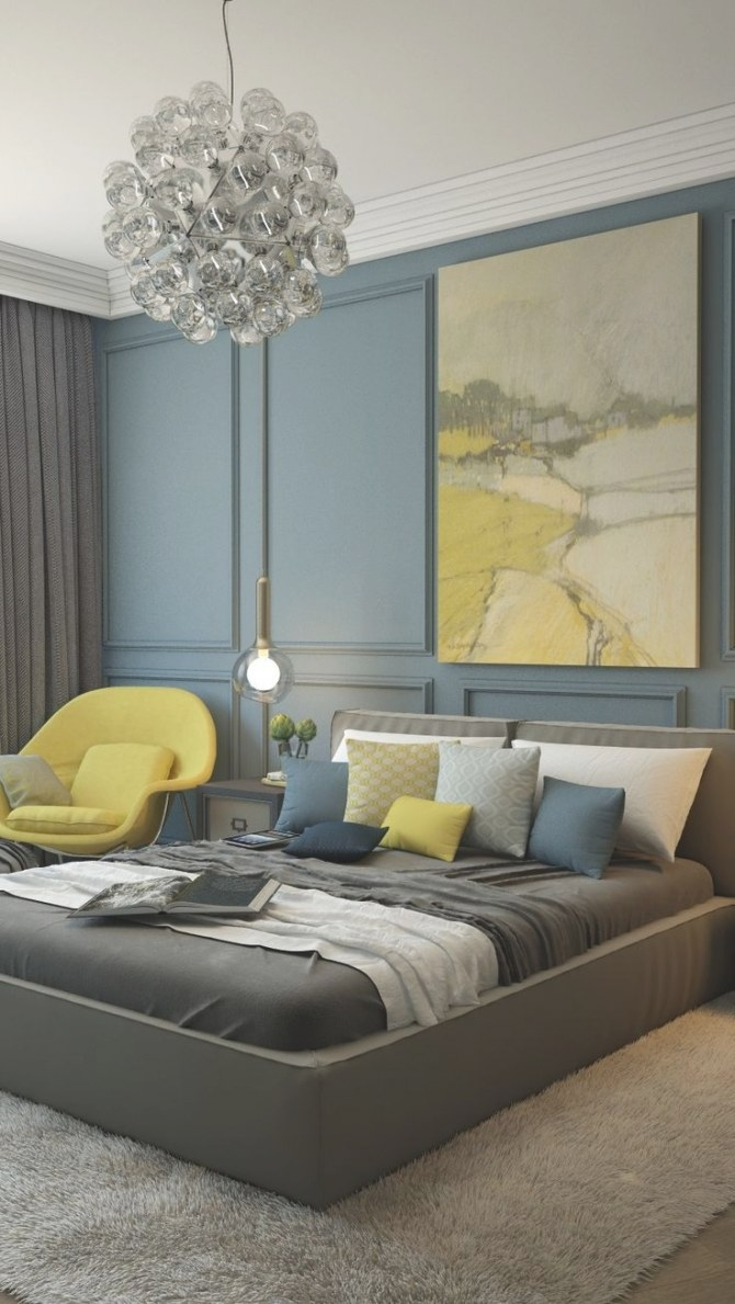 129 Best Blue And Yellow Images On Pinterest | Yellow intended for Blue Grey And White Bedroom