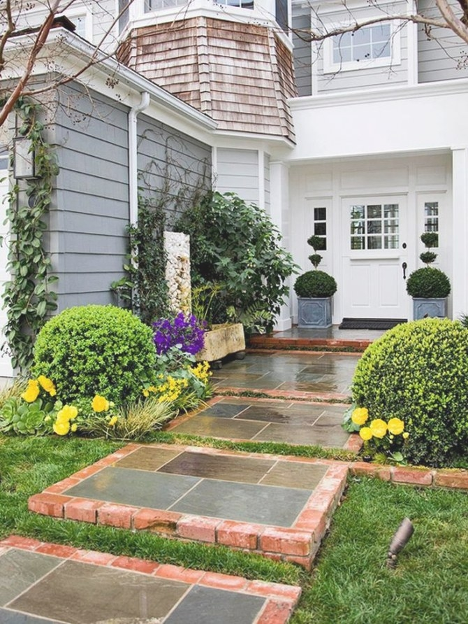 1381 Best Front Yard Landscaping Ideas Images On Pinterest with Front Yard Landscaping Ideas