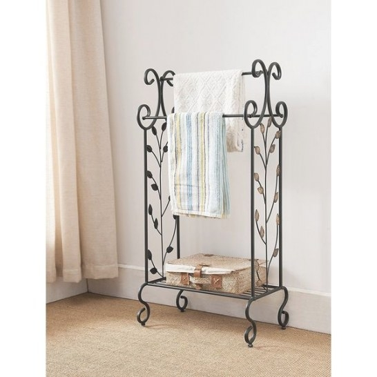 14 Best Free Standing Towel Racks Of 2019 - Easy Home Concepts inside Free Standing Towel Rack
