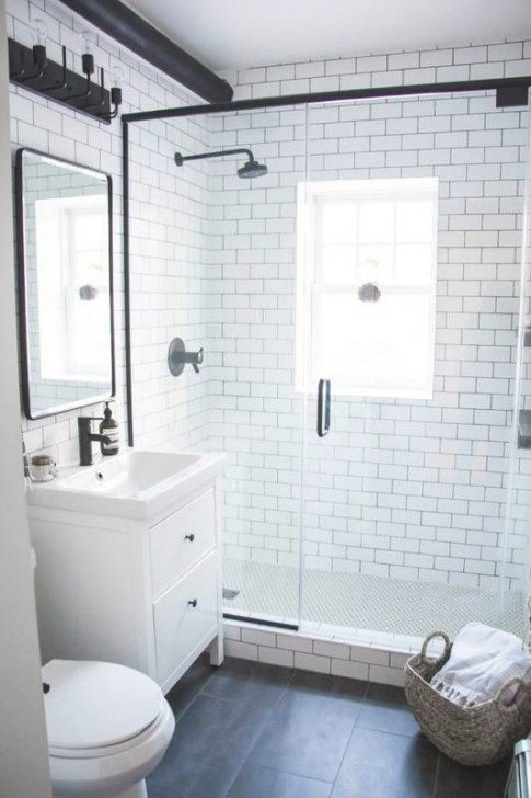 14 Small Bathroom Makeovers That Make The Most Of Every with regard to Images Of Small Bathrooms
