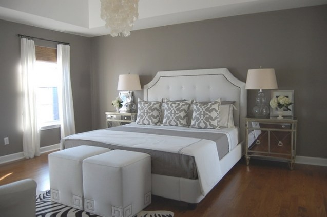 16 Modern Grey And White Bedrooms within Blue Grey And White Bedroom