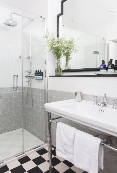 17 Classic Gray And White Bathrooms with White And Grey Bathroom