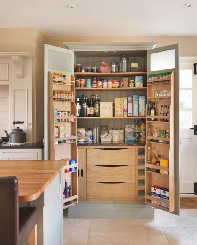 18+ Kitchen Pantry Ideas, Designs | Design Trends for Pantry Ideas For Kitchens