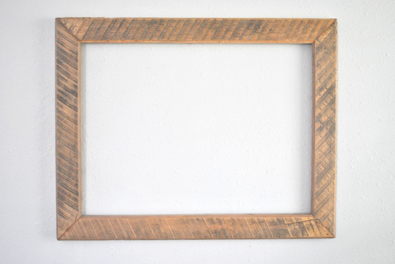 18 X 24 Rough Sawed Wood Frame Late 1800'S Ranch Barn in 18 X 24 Frame